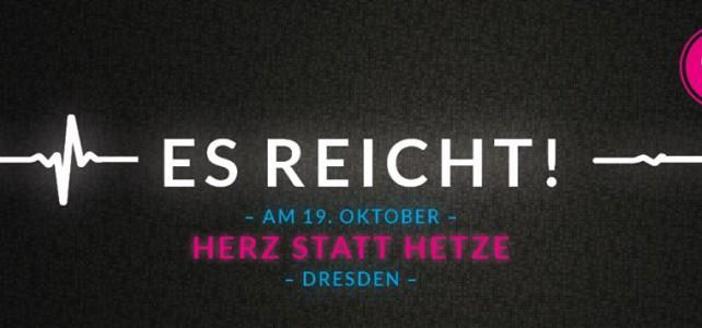 Unser Ensemble für ein weltoffenes Dresden!