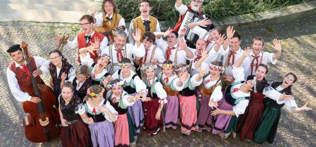 Deutsche Folklore zu Gast in Polen 2017
