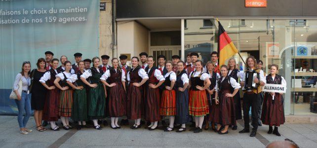 Deutsche Folklore zu Gast in Frankreich 2019